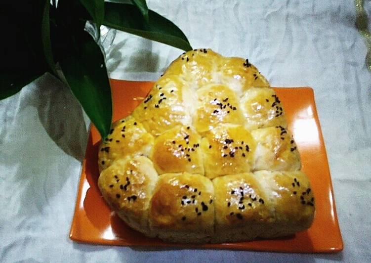 Cara memasak Korean Sweet Potato Bread(Roti Ubi Ala Korea)  Mudah