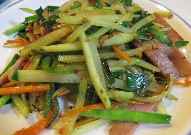 5 Minute Step-by-Step Guide to Make Homemade Papaya Champuru (Okinawan Stir-Fry Dish)