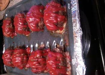 How to Cook Appetizing Venison  Hamburger Mini Meatloaf