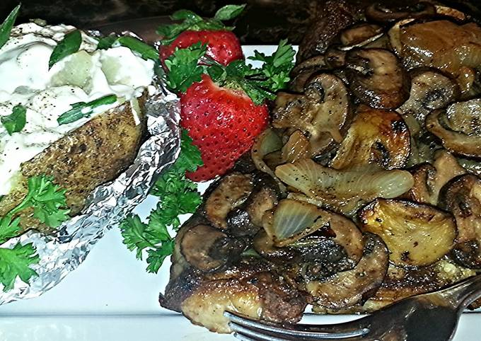 Steps to Make Quick Mike's Tender T-Bones & Scrumptious Sides