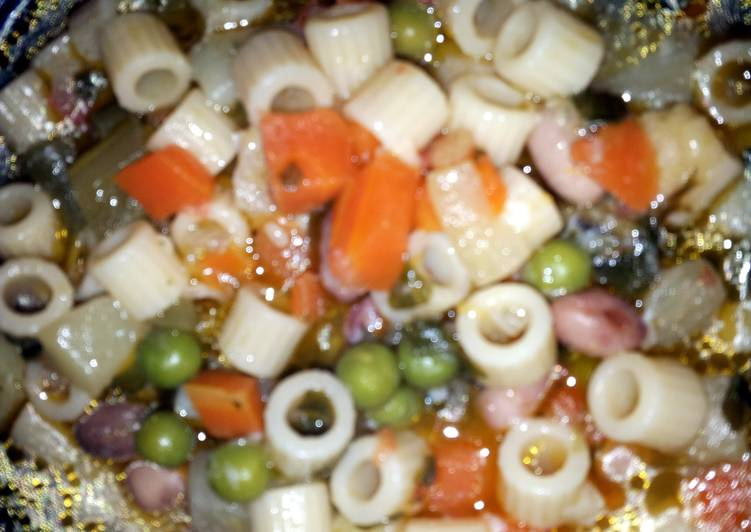 PASTA and BEAN SOUP, Heart Friendly Foods You Should Eat