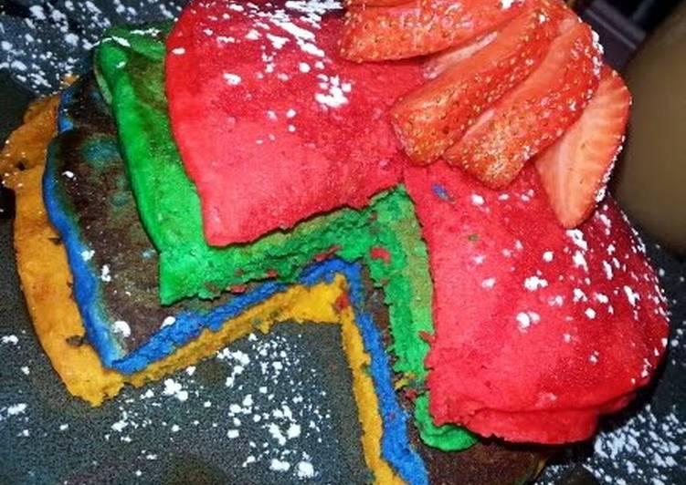"Ray""s Rainbow Pancakes"