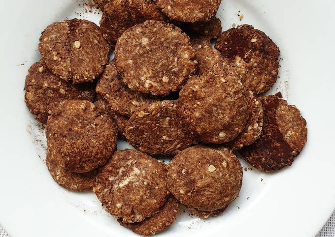 Biscuits cacao noisette (sans Sucre ajouté)