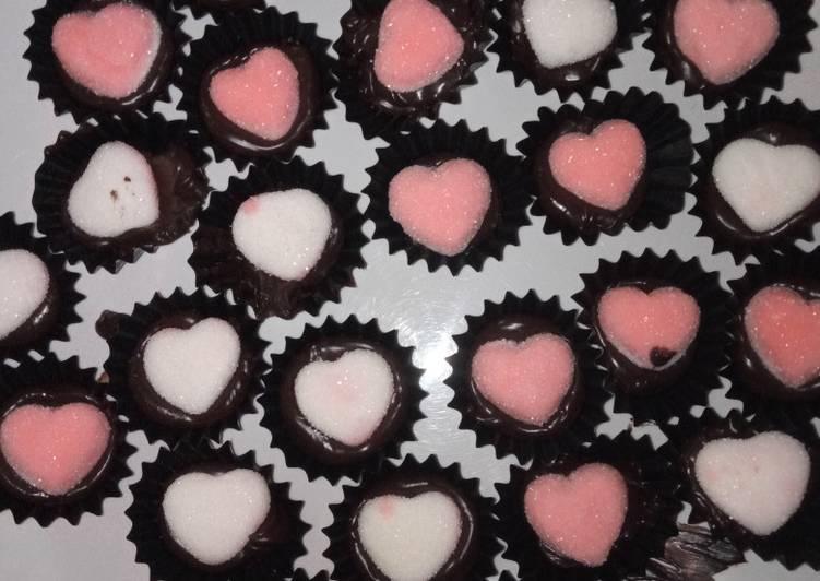 Resep Love is Chocolate Anti Gagal