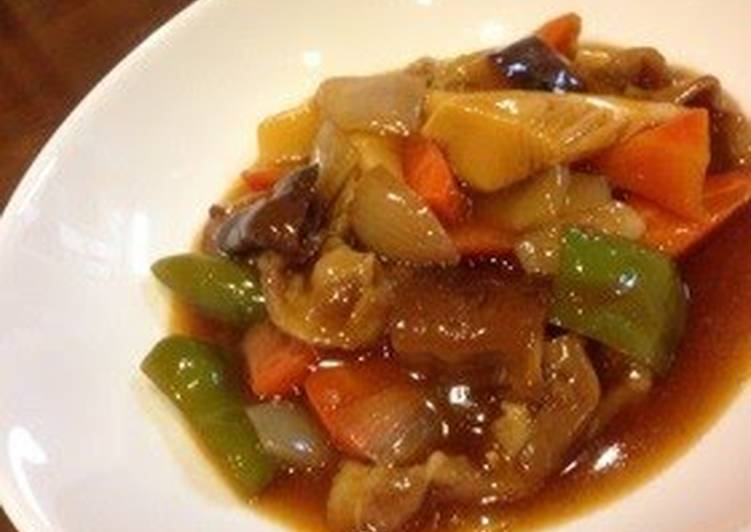 Recipe of Ultimate Tender Authentic Sweet and Sour Pork at Home