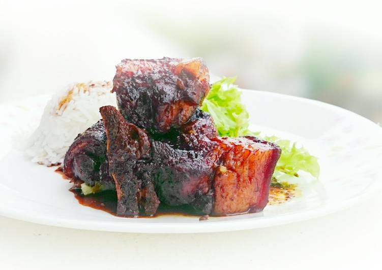 Recipe of Favorite Drunken Pork In Brandy and Dark Soy Sauce Stew