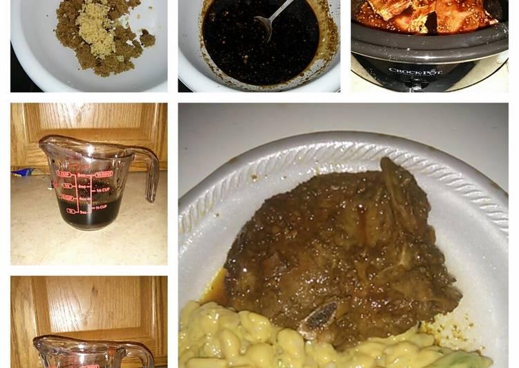 Rita's crock pot chops