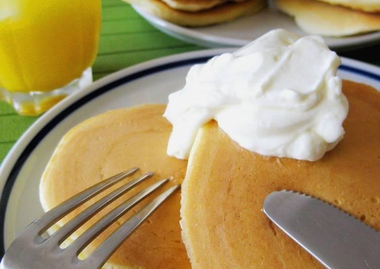 Easiest Way to Make Favorite Rich Milk Pancakes
