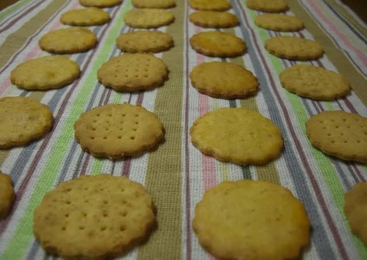 Oil-free Crispy Okara Cookies - Laurie G Edwards