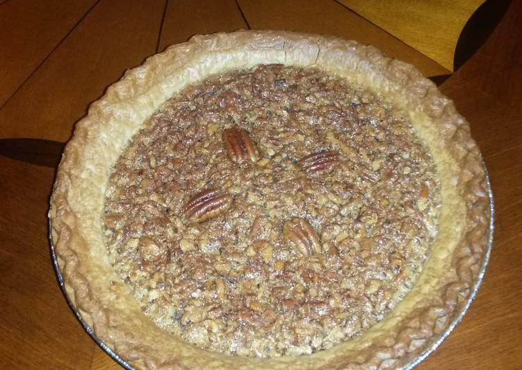 Simple Way to Make Ultimate Nanny`s pecan pie