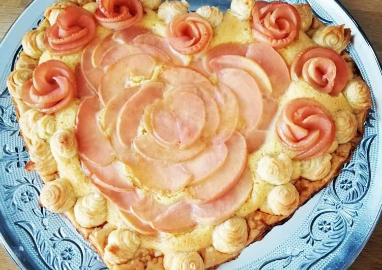 Comment Faire Des Tarte pomme frangipane #saintvalentin