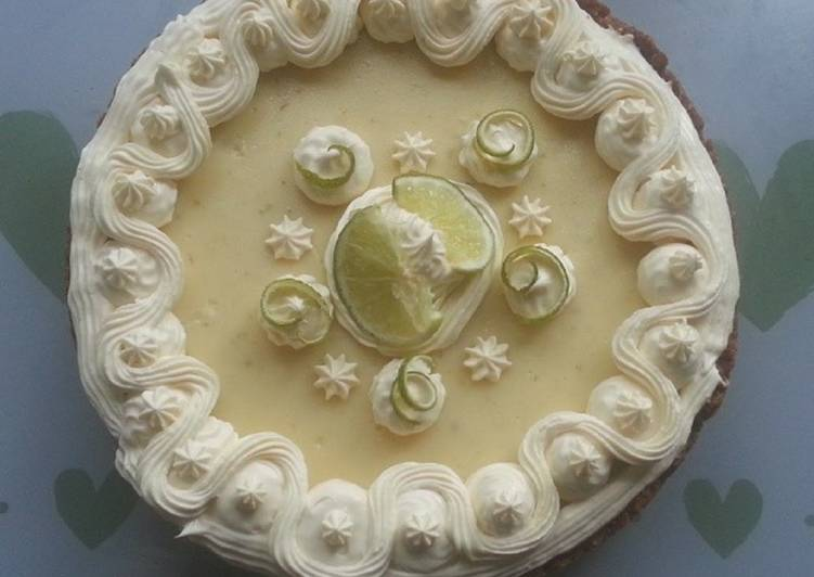 Recipe of Favorite Chocolate Key Lime Pie