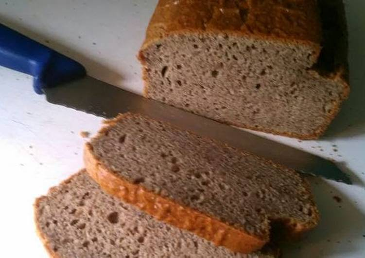Paleo almond butter bread
