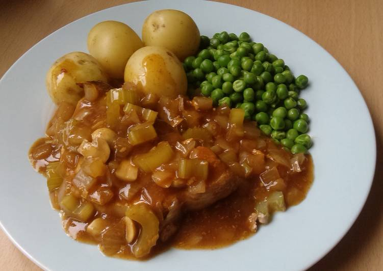 Easiest Way to Make Perfect Vickys Smoked Paprika Pork Chop Casserole, GF DF EF SF NF