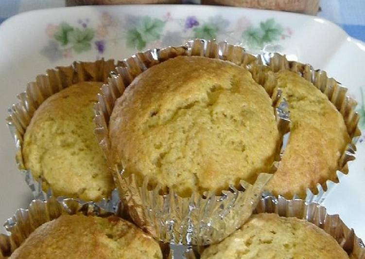 Oil-Free and Easy Okara Banana Muffins - Laurie G Edwards