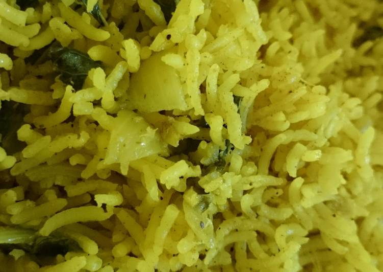 Simple Way to Prepare Quick Mint Rice