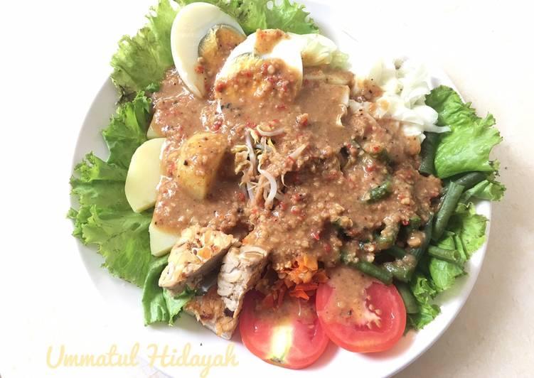 Gado Gado (menu diet)