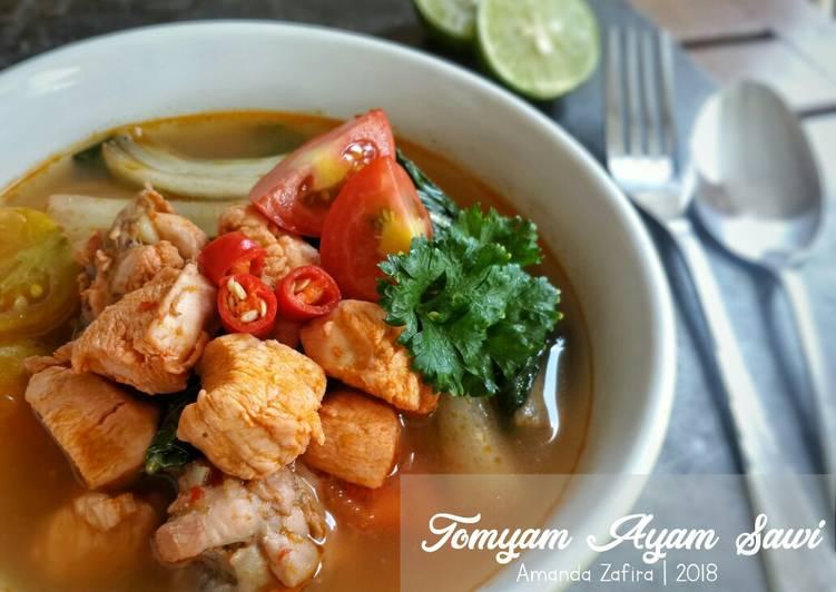 Tomyam Ayam Sawi
