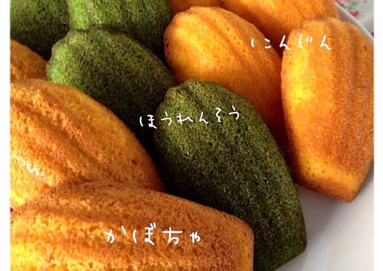 How to Make Favorite Just Mix in a Blender Madeleine with Vegetable Paste