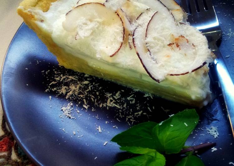 Simple Way to Prepare Speedy Coconut Cream Pie