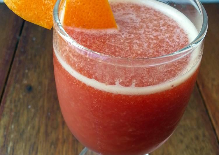 Tomato And Orange Juice