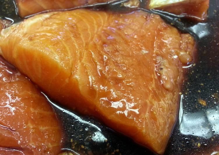 30 Minute Salmon Marinade