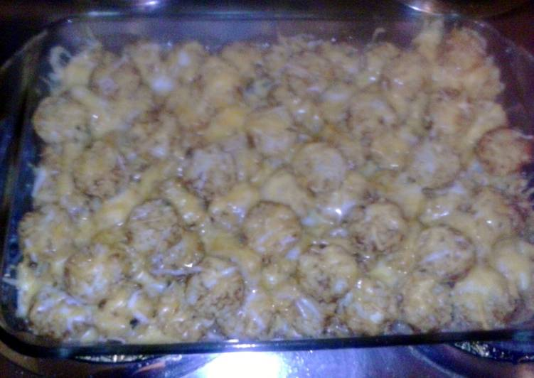 30 Minute How to Prepare Autumn Tater Tot Casserole Variation