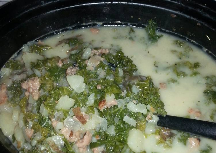 Olive Garden Crock pot/slow cooker Tuscany zuppa soup