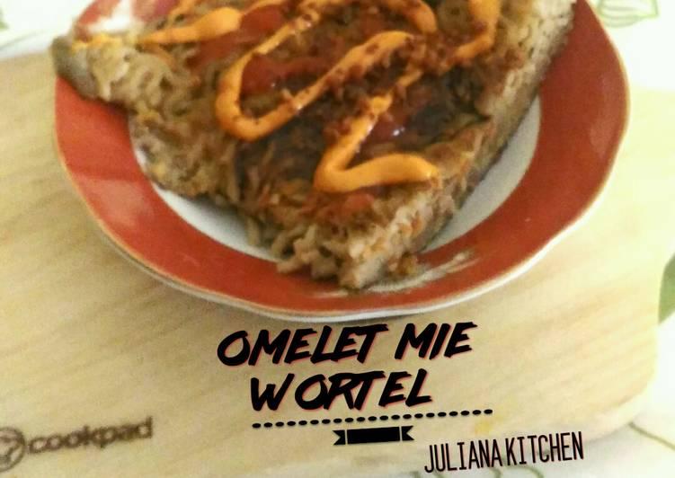 Omelet Mie Wortel