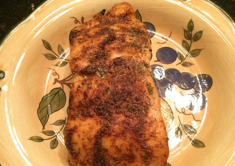 Recipe of Award-winning Grilled Salmon