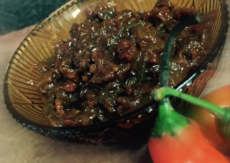 Steps to Prepare Favorite Chili Chutney