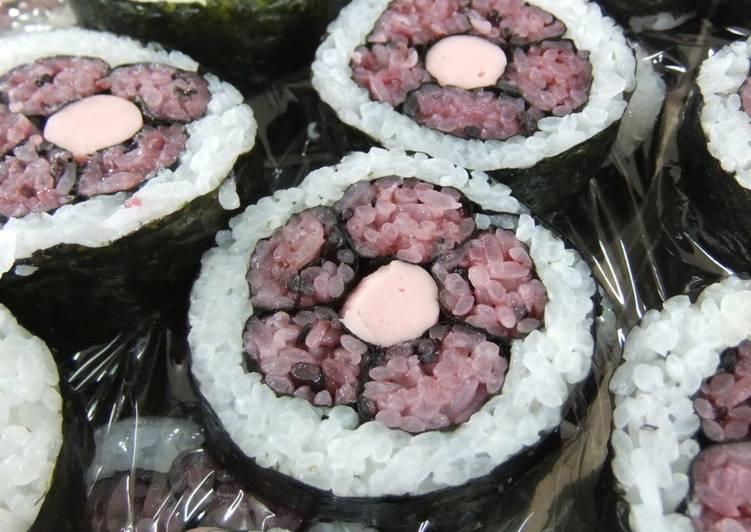 Decorative Floret Sushi Rolls