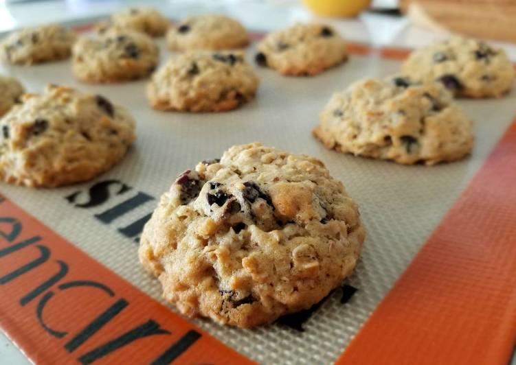 Lactation Oatmeal Raisin Cookies