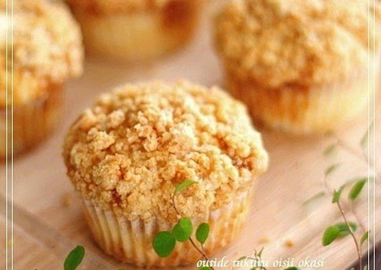 Steps to Prepare Perfect Caramel Crumble Muffins