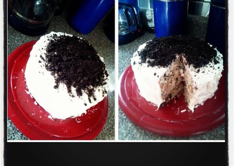 Oreo cake (my style)