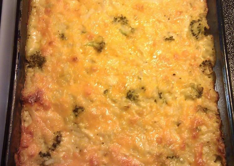 Broccoli Hashbrown Casserole
