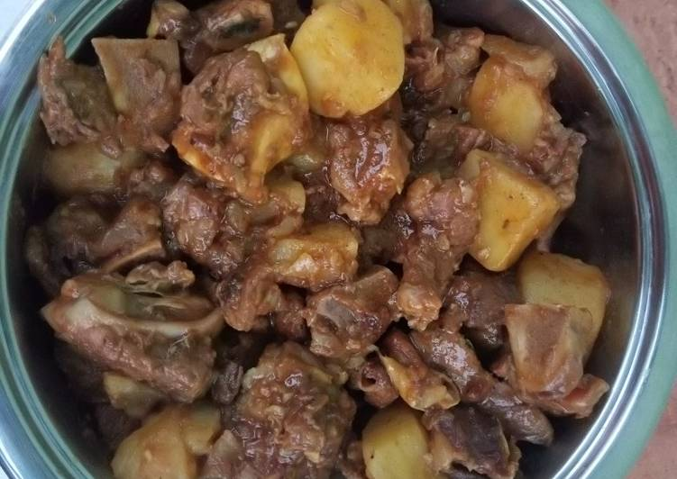 Steps to Prepare Super Quick Homemade Tasty beef stew