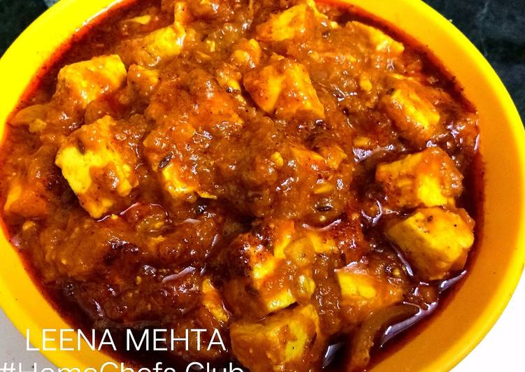 Simple Way to Prepare Any-night-of-the-week Dhaba Style Paneer Masala