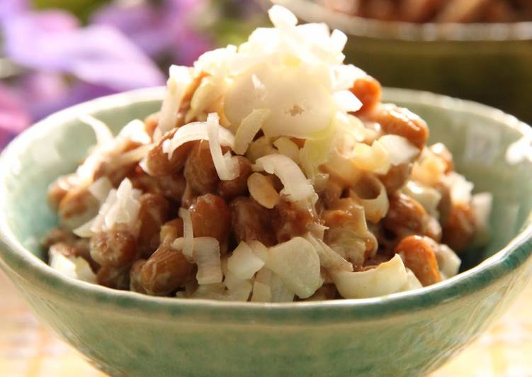 Natto with Miso and Mayonnaise recipe main photo
