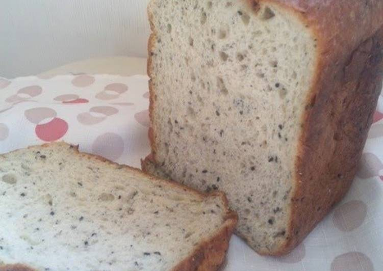 5 Minute Recipe of Speedy Low-carb Sesame Seed, Yogurt and Soy Bread