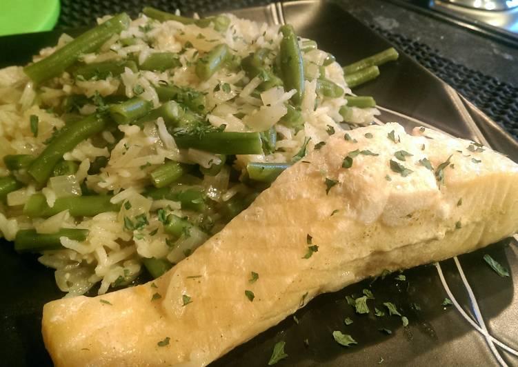 Recipe of Perfect Thai Salmon Rice