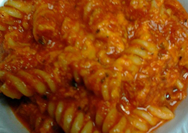 simple sauce pasta