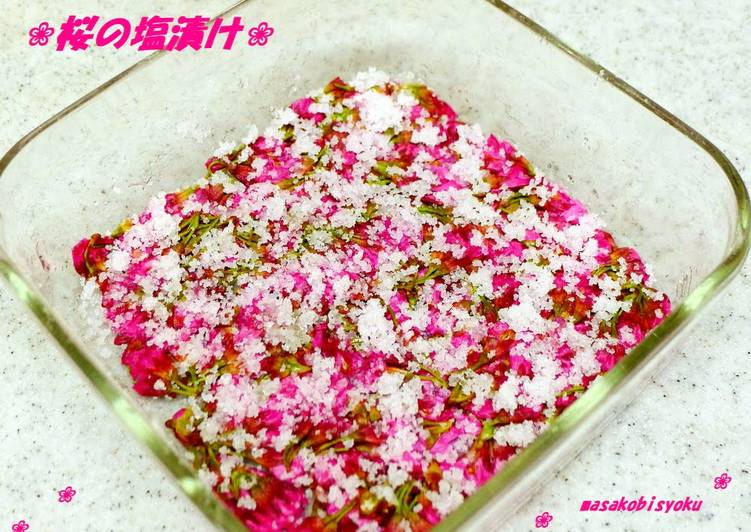 Recipe of Ultimate Salted Cherry Blossoms
