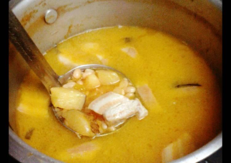 CUBAN white bean soup - Laurie G Edwards