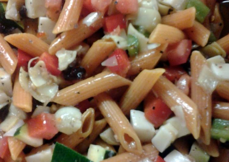 Recipe of Favorite Veggie Penne Pasta Salad