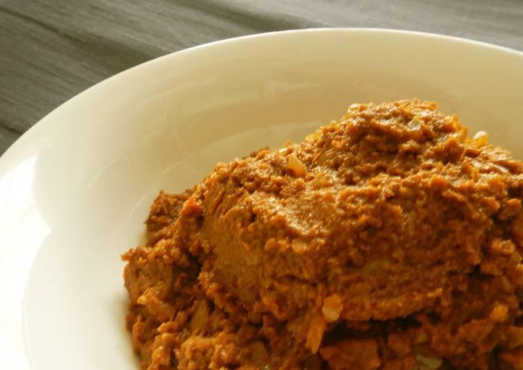 Recipe of Super Quick Homemade Easy Okara Keema Curry