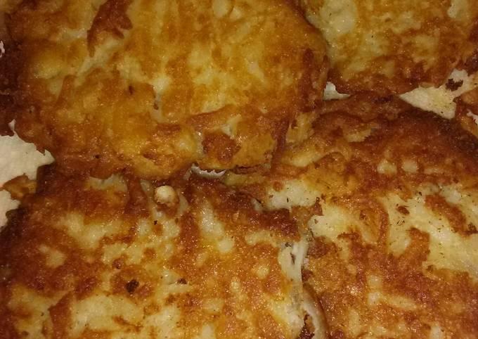 Nikki's Quickie Potato Pancakes