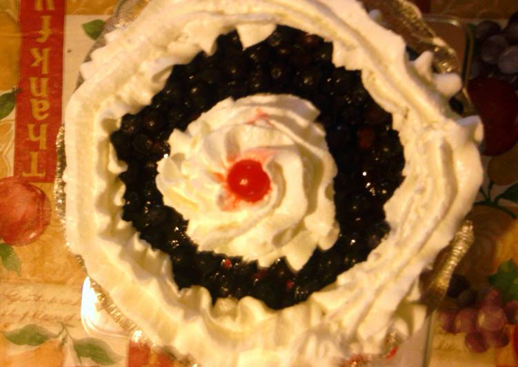 Easiest Way to Cook Perfect blueberry cream cheese  pie