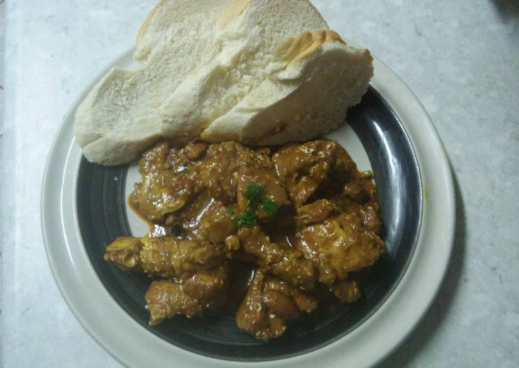 Simple Way to Make Homemade Spicy Almond and Sesame Chicken