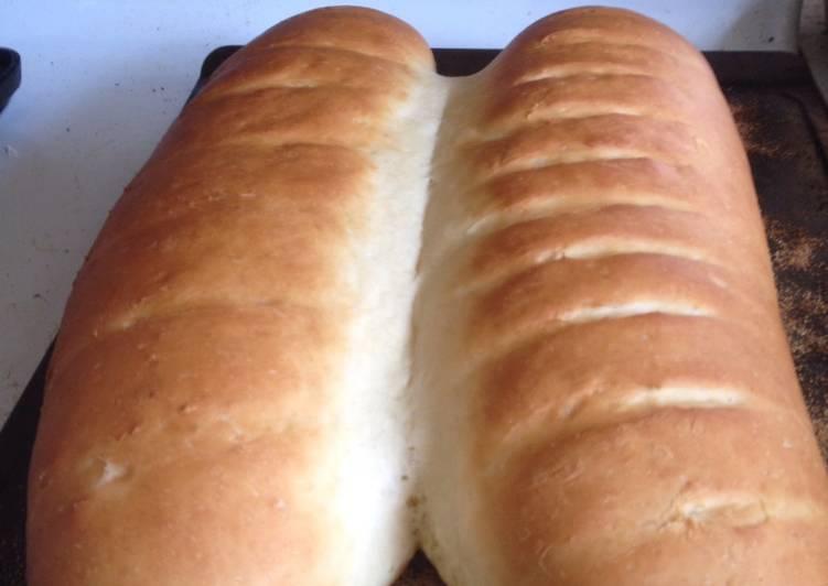 Basic fluffy white bread